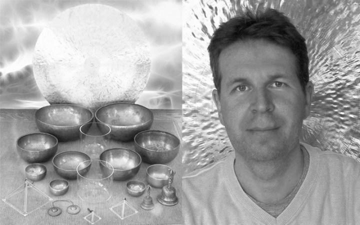 Meditationsmusik, die Richard Hiebinger komponiert, bringt Körper, geist und Seele zum Einklang