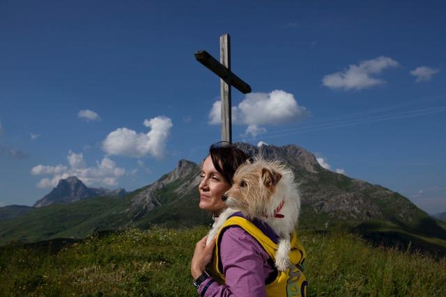 Tierkommunikation? Das kann jeder, behautet Tierenergetikerin Daniela Pfefferkorn.