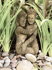 tantric lovers in our private garden