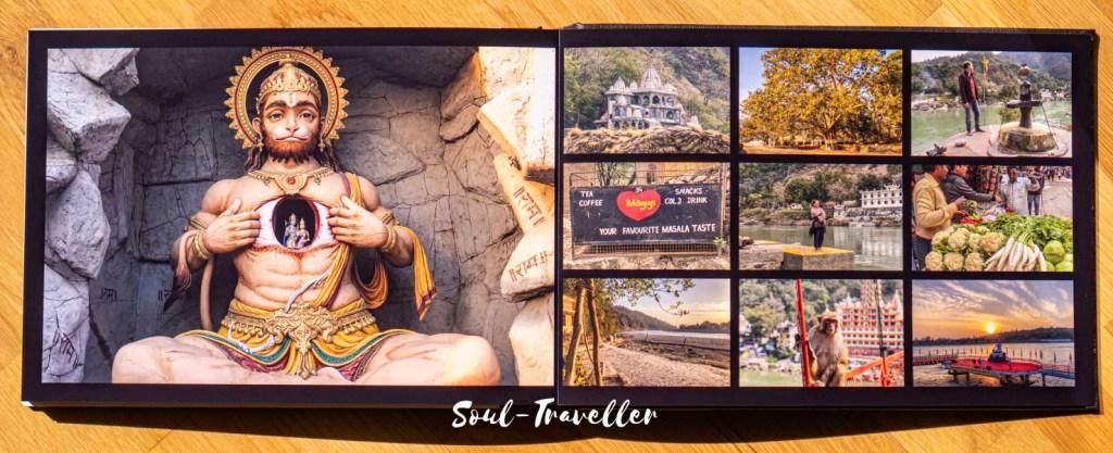 Soul-Traveller Fotobuch Indien 2018-19 von Saal-Digital Professional Line