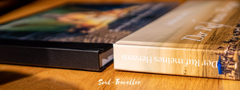 Soul-Traveller Fotobuch von Saal-Digital Professional Line vs Cinebook