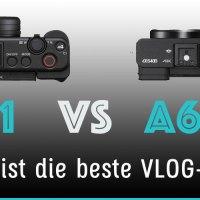 Sony ZV-1 vs.  A6400 Vergleich - Welches ist die beste Sony VLog-Kamera?