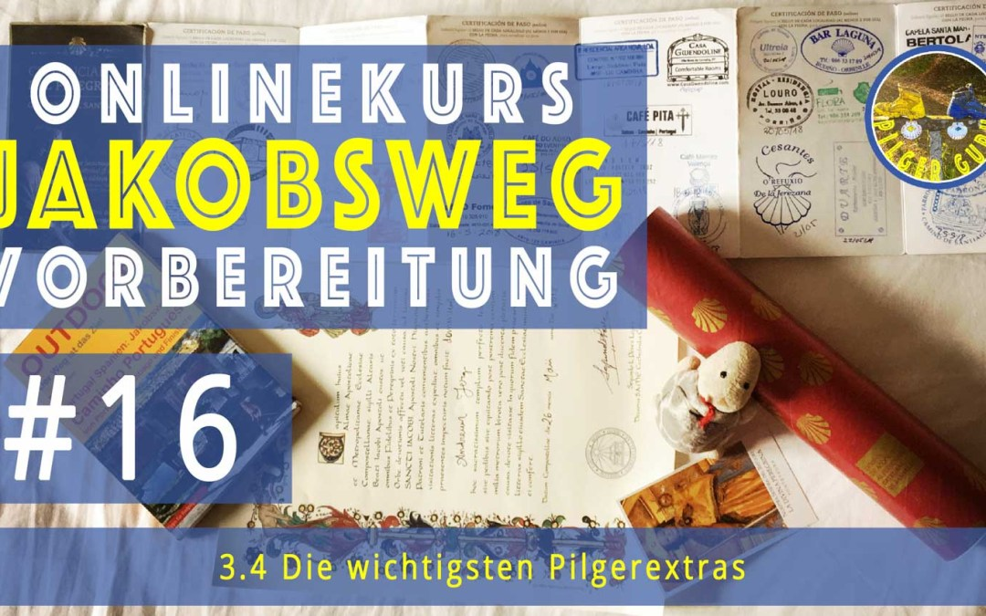 Jakobsweg: Muschel Pilgerpass Pilgerhut: Die wichtigsten Pilger-Extras