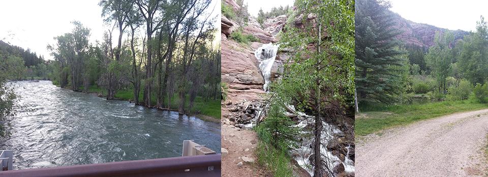 Redstone-waterfall-river-slide