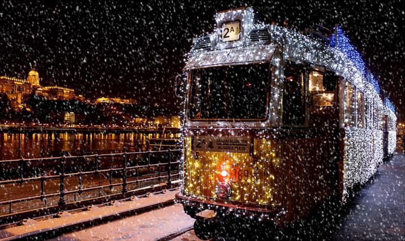 Будапешт взимку, Будапешт Різдво