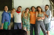 All of us WWOOFers, with Jijo and Louisa. From left to right: Cathryn (NYC), Jenni (Isreal), Lorenzo, Valentina (Italy), Louisa (Argentina) myself and Ben (USA!)