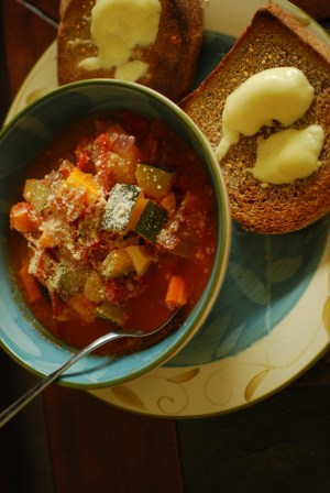 Garden-Fresh soup
