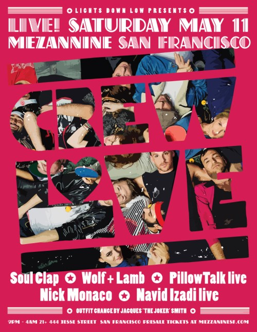 Crew Love SF