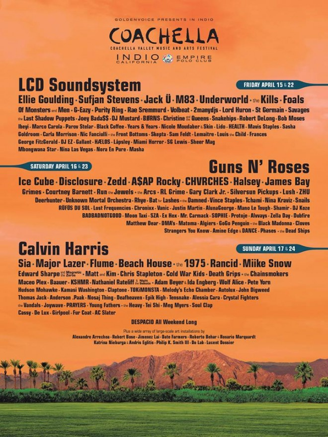 The Almighty Lineup