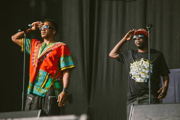 A Tribe Called Quest at Wireless Festival UK 2013, by Andrew Whitton