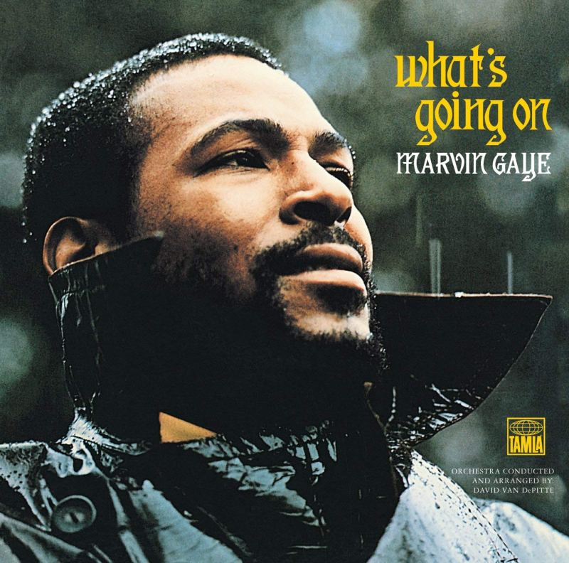 Marvin Gaye 'Whats Going On' Album Cover