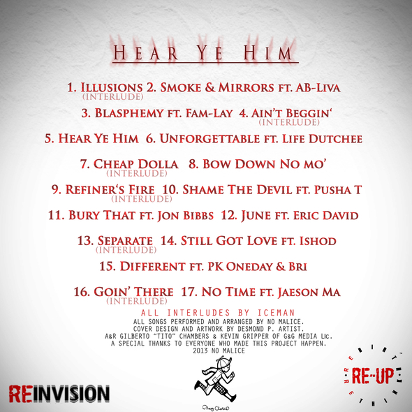 No-Malice-Hear-Ye-Him-Cover-track-listing