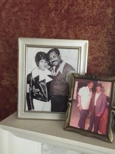 My grandmother/grandfather (left)