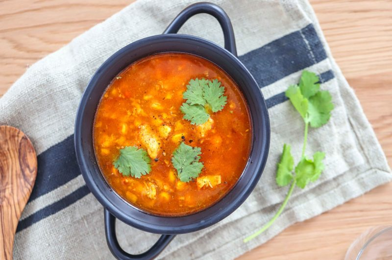 PCOS FRIENDLY MEXICAN SOUP WITH CHICKEN