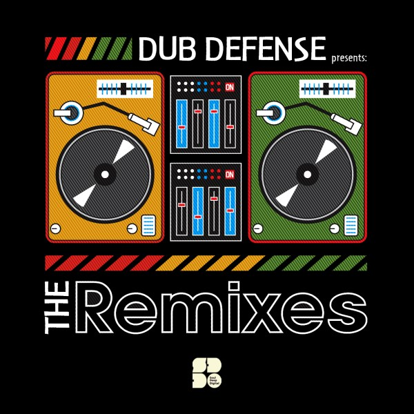 DUB DEFENSE - THE REMIXES 1400X1400