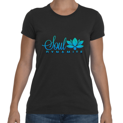 Womens Colored Logo Tee