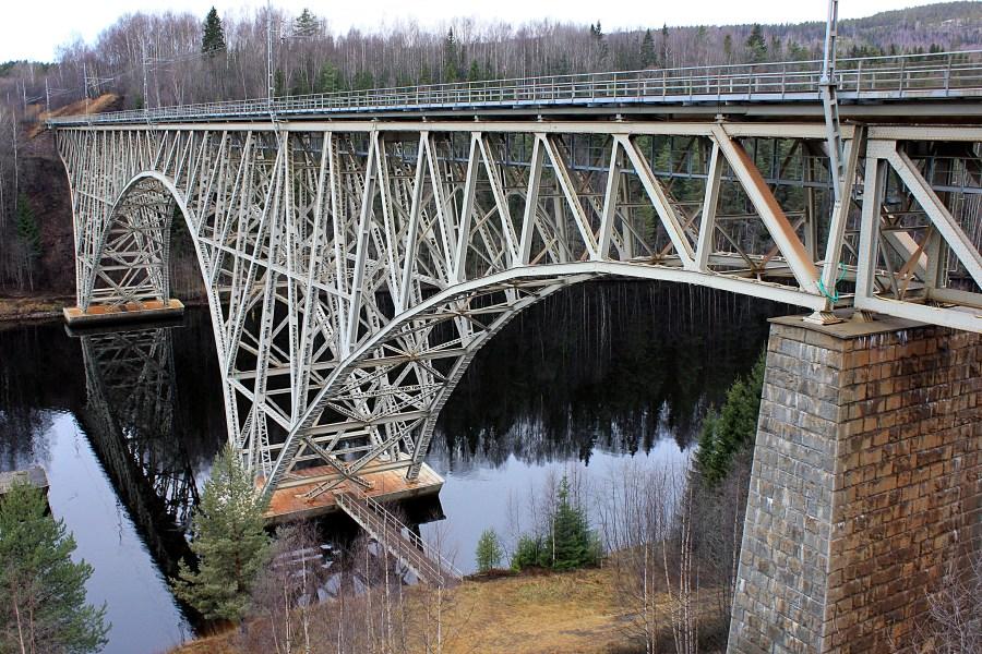 Järnvägsbron i Forsmo, Sollefteå