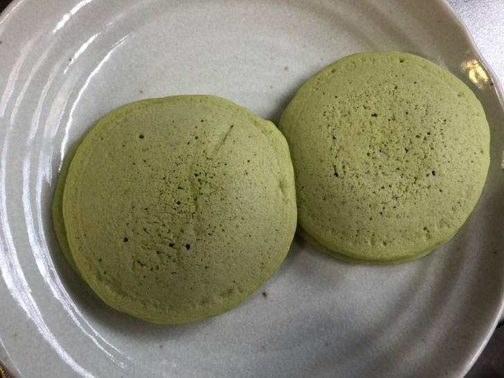メロンクリームソーダパンケーキ