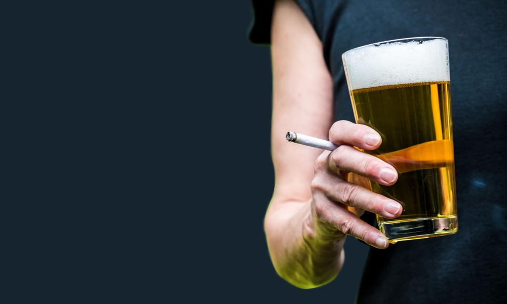 Quit drinking alcohol and smoking