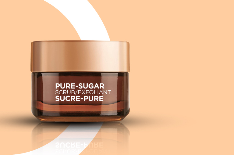 L'Oréal Pure-Sugar Scrubs Smooth and Glow