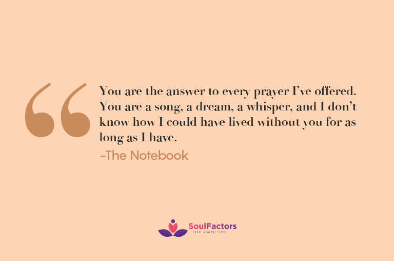 You are the answer to every prayer I've offered