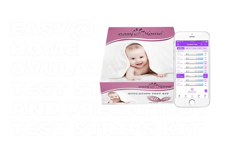 Best Ovulation Tests- Easy@Home Ovulation Test Strips and Pregnancy Test Strips Kit