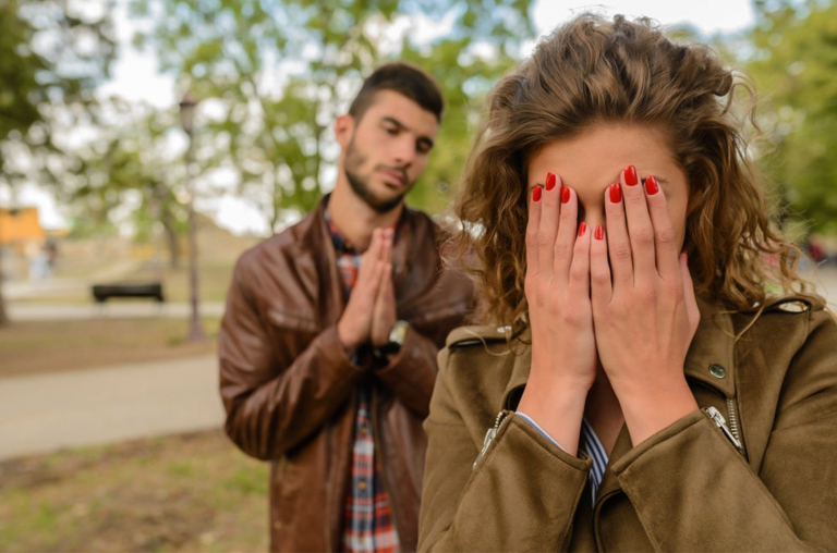 Forgive if your partner regrets the mistake