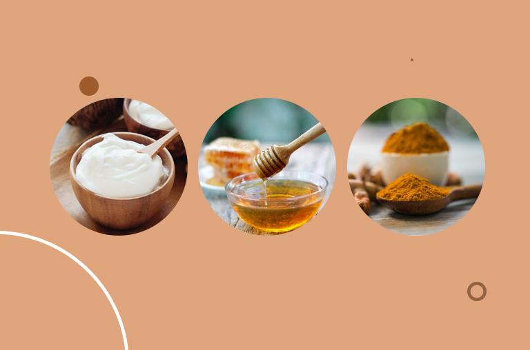 Yogurt, Honey, and Turmeric