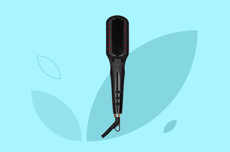 Amika Polished Perfection Thermal Straightening Brush 2.0