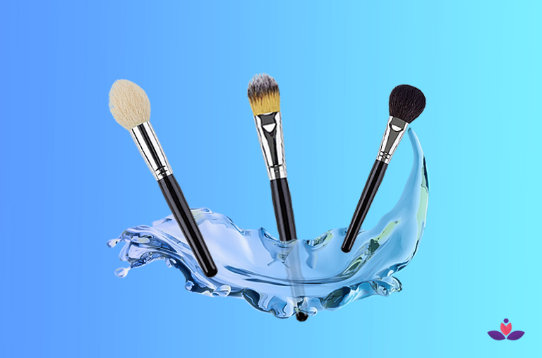 Cleaning Makeup Brushes Is An Essential Step