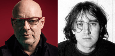 Brian Eno and Kevin Shields