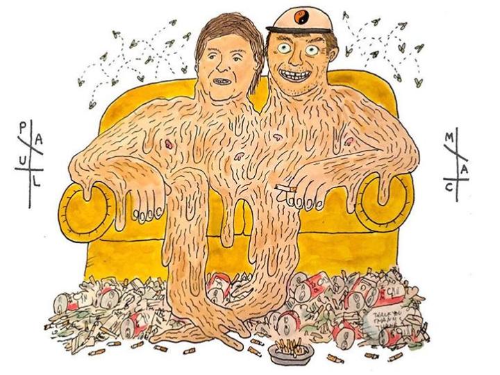 Mac Demarco and Paul McCartney