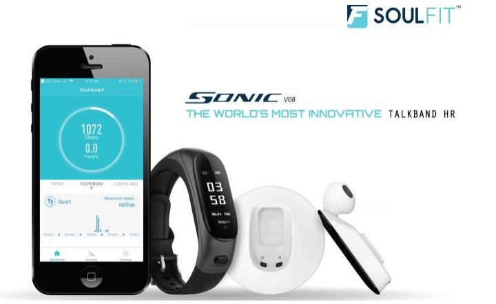 Meet Soulfit Sonic – An Hybrid Of Earpod & Fitness Tracker