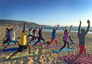 Sunset_beach_Yoga_Redondo_Beach