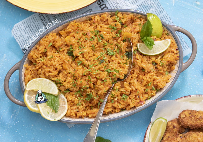 nigeriaanse nigerian ghanese ghanian jollof rice recipe recept