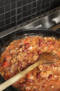 Stir well simmer for 15 minutes until glossy and reduced, stirring often.