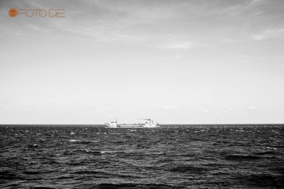 weißes Schiff