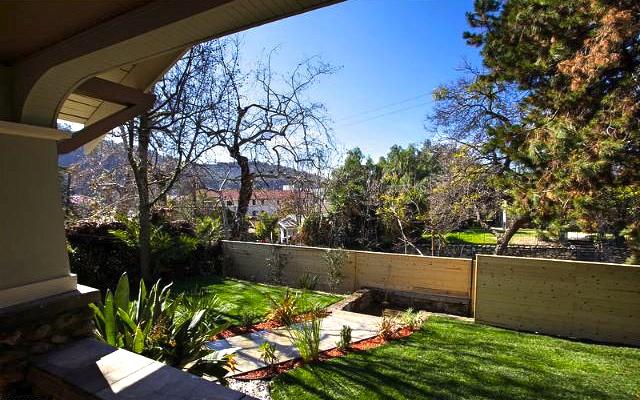 Yard with views.