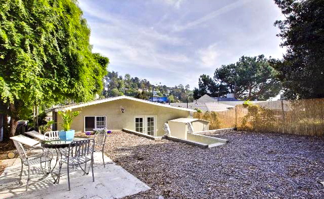 Patio. Courtesy of Mark Costanzi – Coldwell Banker Los Feliz