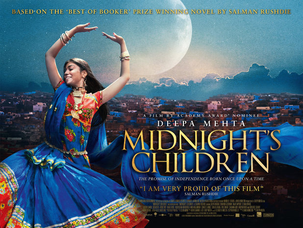 "Catch the critically acclaimed ""Midnight's Children"" based on Salman Rushdie's novel."