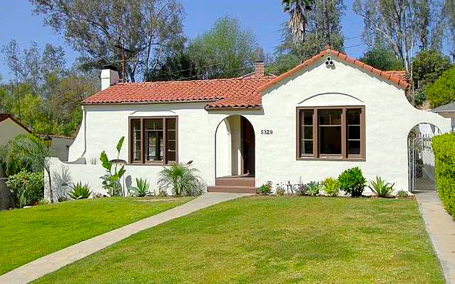 1925 Spanish: 5329 Vincent Ave., Los Angeles, 90041