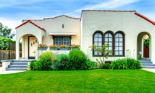 1925 Spanish Duplex: 1909 Rosalia Rd., Los Angeles, 90027