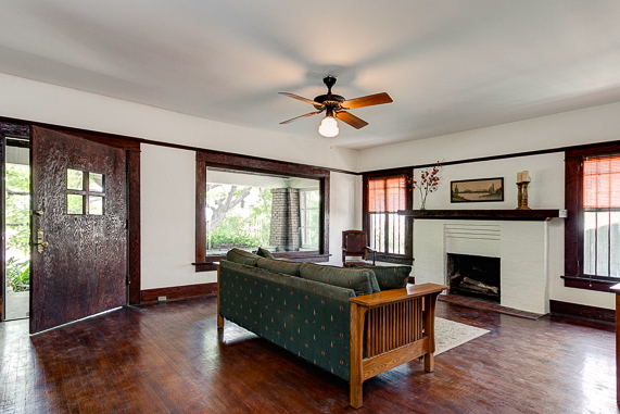 Living with original wood floors, windows and molding