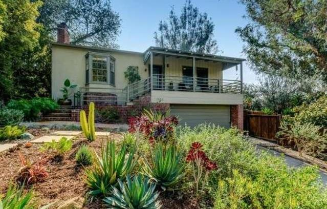 Nestled on a lush lot in Eagle Rock