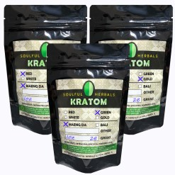 3oz Kratom Powder Sampler - 1 Oz x 3 Strains