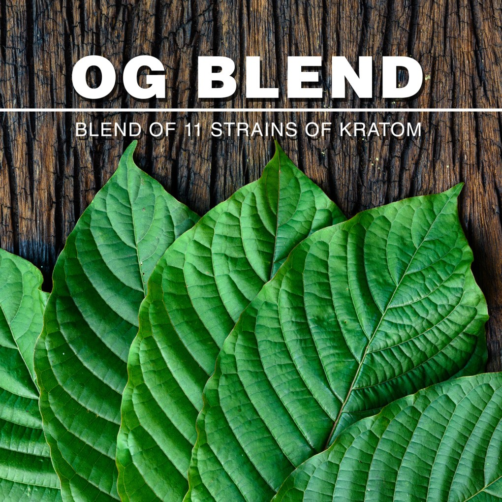 OG BLEND - 11 STRAINS OF KRATOM