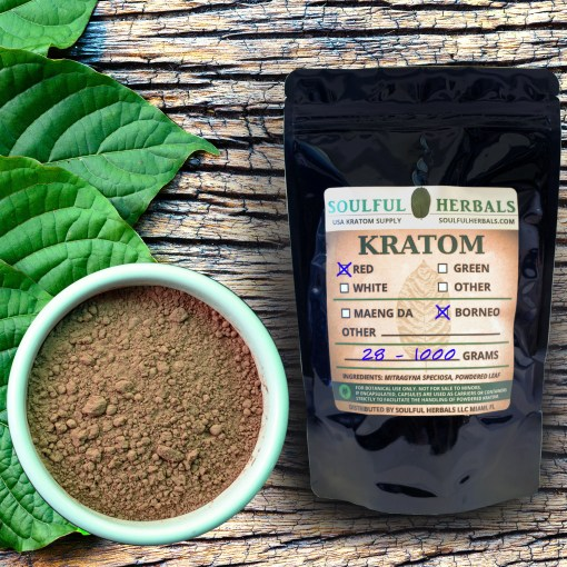 Red Borneo - Red Vein Kratom