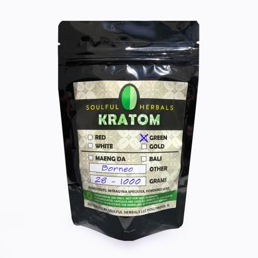 Green Borneo Kratom Powder Kilos