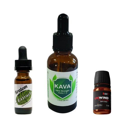 Kratom and Kava Extract Bundle