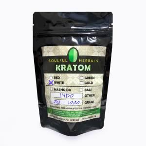 White Indo Kratom Powder Kilos